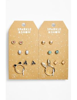 stud-earring-&-ring-set by bp