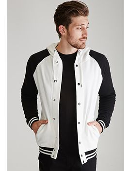 hooded-varsity-jacket by forever-21