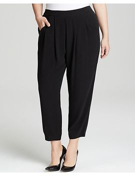 slouchy-ankle-pants by eileen-fisher-plus