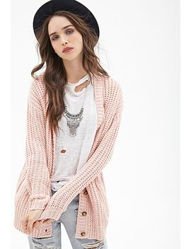 marled-knit-longline-cardigan by forever-21