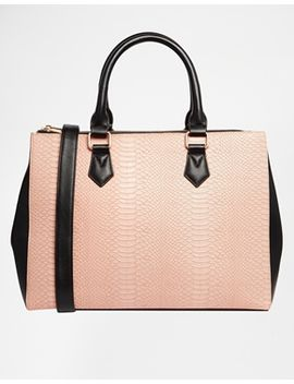 asos-zip-top-city-bag by asos-collection