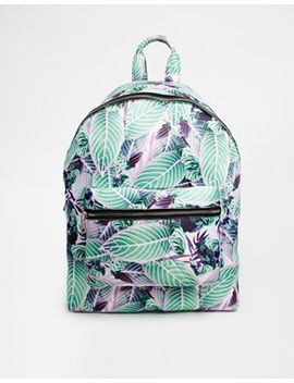 asos-floral-scuba-backpack by asos-collection