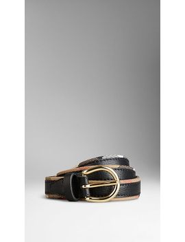 house-check-and-bridle-leather-belt by burberry