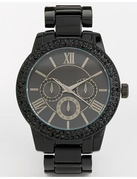aldo-werrawen-black-chronograph-watch by aldo