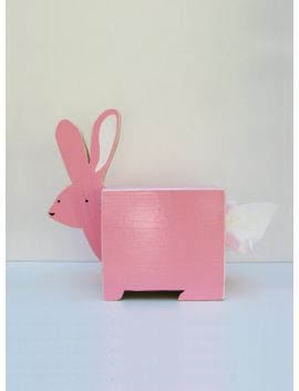 rabbit-tissue-holder---pick-a-color----ships-in-2-3-days by shopsparklypony