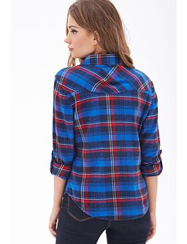 plaid-flannel-western-shirt by forever-21