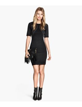 jersey-dress-with-studs by h&m