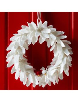 felt-leaf-wreath by west-elm