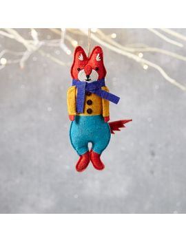 mimi-kirchner-forest-animal-ornament---boy-fox by west-elm