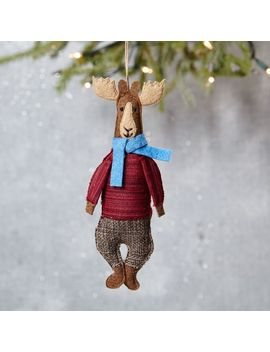 mimi-kirchner-forest-animal-ornament---moose by west-elm