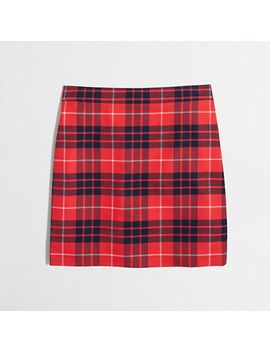 plaid-mini-skirt by jcrew