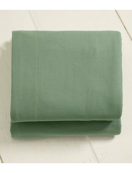 ultrasoft-comfort-flannel-sheet,-fitted by llbean