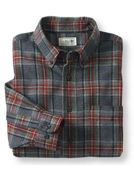 scotch-plaid-flannel-shirt,-traditional-fit by llbean