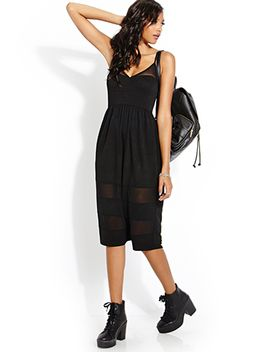 mesh-moment-midi-dress by forever-21