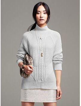 mixed-cable-knit-pullover by banana-repbulic