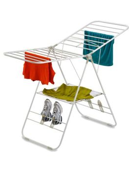 honey-can-do-heavy-duty-folding-gullwing-laundry-drying-rack,-white by honey-can-do