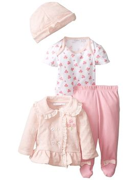 quiltex-baby-girls-newborn-rosey-4,-pale-baby-pink,-6-9-months by quiltex