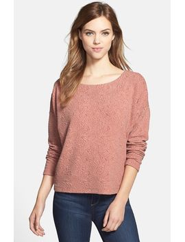 textured-sweatshirt by bobeau
