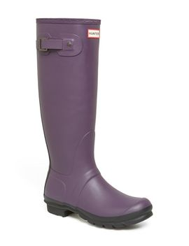 original---two-tone-rain-boot by hunter