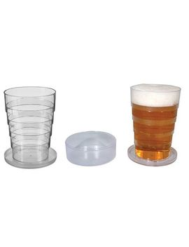 pop-up-collapsible-pint-beer-glass-2-pack by toysmith