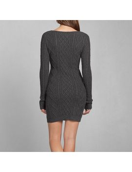christa-sweater-dress by abercrombie-&-fitch