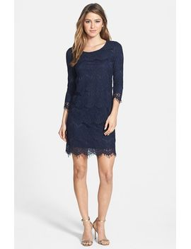 lace-shift-dress by everleigh