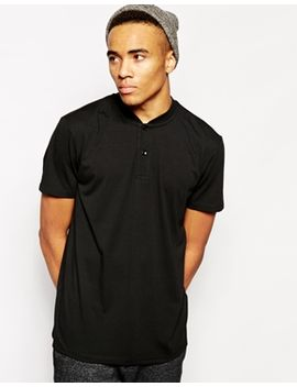 new-look-t-shirt-with-baseball-collar-polo by new-look