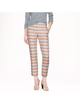 collection-cropped-pant-in-diamond-stripe-jacquard by jcrew