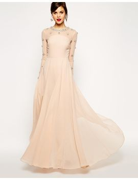 asos-red-carpet-princess-cluster-maxi by asos-collection
