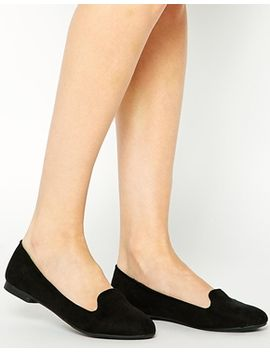 new-look-jiggle-black-slipper-shoes by new-look