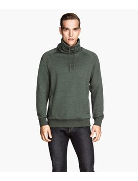 sweatshirt-with-chimney-collar by h&m