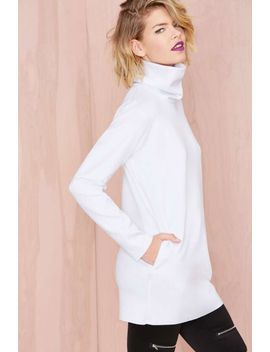 nasty-gal-blank-out-scuba-sweatshirt by nasty-gal