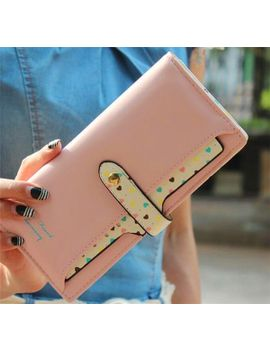 new-leather-famous-design-lovely-printing-women-wallet,long-draw-out-type-female-wallet-clutch-purses-carteira-feminina-aa151 by ali-express