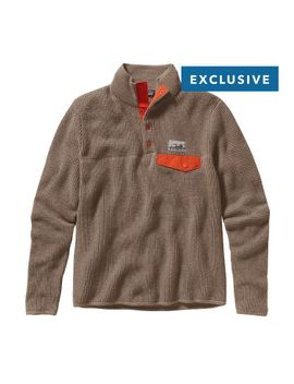 patagonia-mens-undyed-cashmere-snap-t®-pullover by patagonia