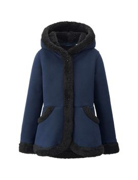 girls-fleece-coat by uniqlo