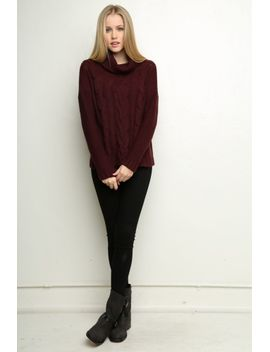 zelly-turtleneck-sweater by brandy-melville