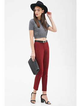 classic-low-rise-trousers by forever-21