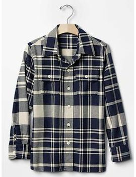 plaid-flannel-shirt by gap