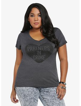partners-in-crime-v-neck-tee by torrid