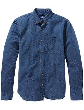 mens-slim-fit-chambray-shirts by old-navy