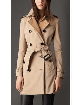 gabardine-trench-coat-with-check-wool-cashmere-undercollar by burberry