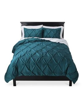 pinched-pleat-comforter-set---threshold by threshold