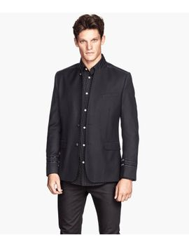 jacket-with-a-stand-up-collar by h&m