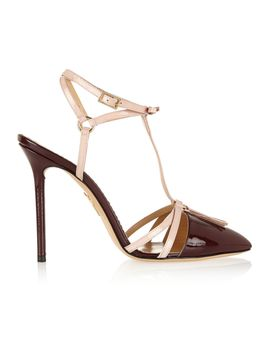 trixy-patent-leather-t-bar-pumps by charlotte-olympia