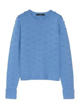bobble-knit-merino-wool-sweater by tibi