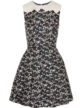 rayna-floral-print-wool-and-silk-blend-mini-dress by tory-burch