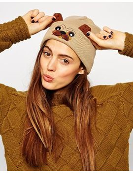 asos-pug-beanie by asos-collection
