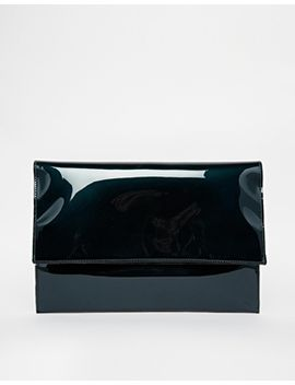 asos-oil-slick-foldover-clutch-bag by asos