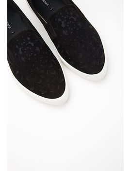 pointed-cutout-slip-ons by forever-21