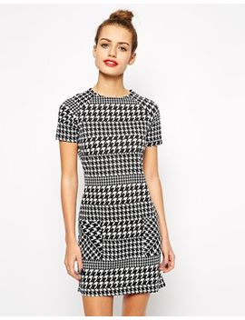 new-look-dog-tooth-print-tunic by new-look